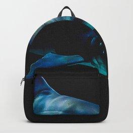 Great White Shark Black Backpack