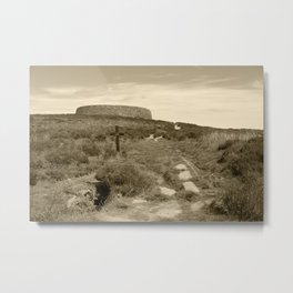 Grianan of Aileach Donegal Tint Metal Print