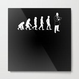 Evolution Doctor Metal Print