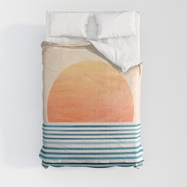 Morning in Paradise ~ Tropical Sunrise Comforters