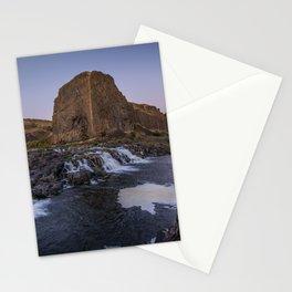Palouse Falls - Waterfall Sunset Stationery Cards