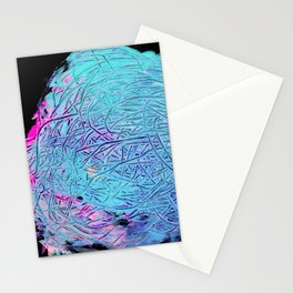 Incomprehensible traces. I am looking for my way. Abstract art. Stationery Cards