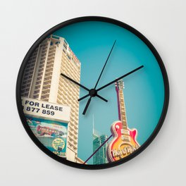 Iconic Surfers Paradise Wall Clock