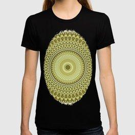 Fractal Kaleido Study 003 in CMR T-shirt