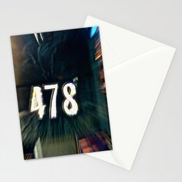 Abstract Prime Number Stationery Cards