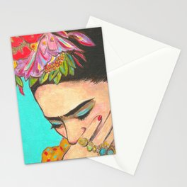 Mexican Art Portrait Print Diego Rivera Stationery Cards