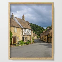 Castle Combe Serving Tray