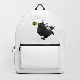 Fat Black Chocobo Mount Backpack