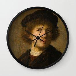 Self-Portrait Wall Clock