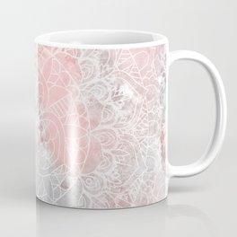 Bright Pink Mandala Design Coffee Mug