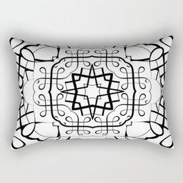SACRED GEOMETRY II Rectangular Pillow