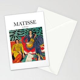Matisse - La Musique Stationery Cards