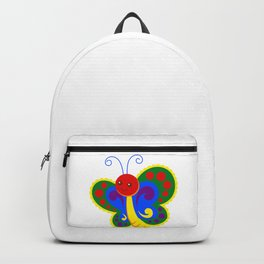 Gay Pride Rainbow Butterfly Backpack