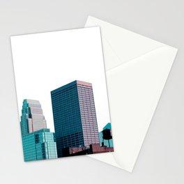 Minneapolis, Minnesota Minimalist Skyline Stationery Cards