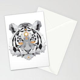Boho poly tiger Stationery Cards