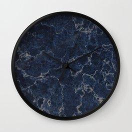 Denim Marble Texture Surface 21 Wall Clock