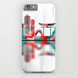 Hiroshima Japan Skyline iPhone Case