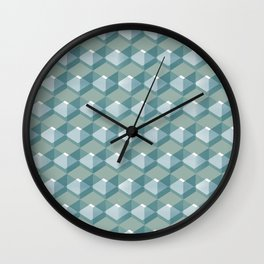 Cube Series #3 Wall Clock