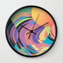 Magnetic Storm Wall Clock