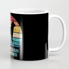 Norwegian Elkhound vintage Coffee Mug