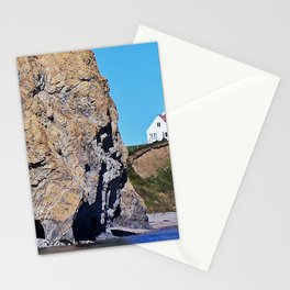 Cliffside Coastal Home Stationery Cards
