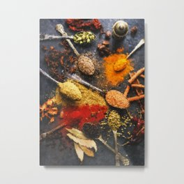 Spice Of Life Metal Print