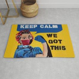 Keep Calm We Got This Rug