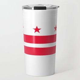 Flag of Washington City Travel Mug