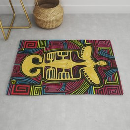Colombia Art  Rug