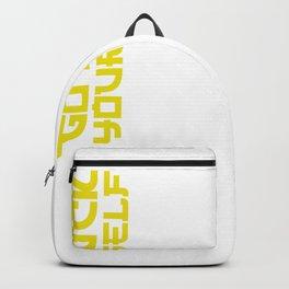 Go Fuck Yourself Backpack