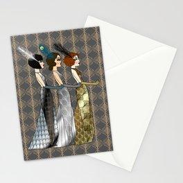 Art Deco Trio Stationery Cards