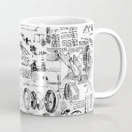 Da Vinci's Sketchbook Coffee Mug