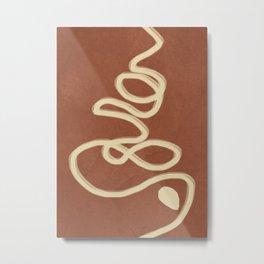 Abstract Lines I Metal Print