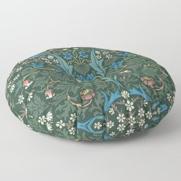 William Morris Blackthorn Pattern, 1892 Floor Pillow