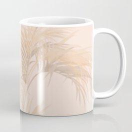 Pink And Blush Palm Leaves Coffee Mug