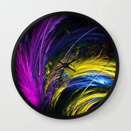 Colour Bauble Wall Clock
