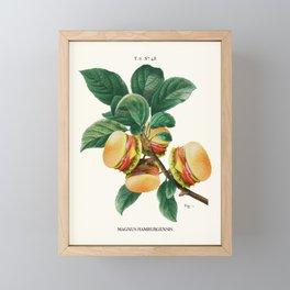 BURGER PLANT Framed Mini Art Print