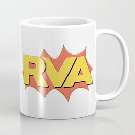 Rva Logo | ' Comic 1 Style ' Coffee Mug