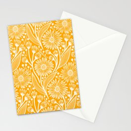 Saffron Coneflowers Stationery Cards