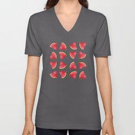 National Watermelon Day Unisex V-Neck