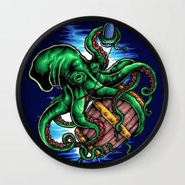 Octopus King Wall Clock