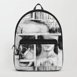 El Portero - Surreal Draw - Psychological Visual Story Backpack