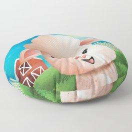 Meryl Sheep - Baaa - Nursery Art - Cute Animal Floor Pillow