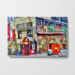 Mexican  Bar Metal Print