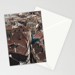 Prague Rooftop 03 Stationery Cards