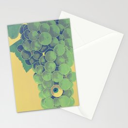 Grapes at Sunriseye (Version C) Stationery Cards