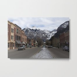 Downtown Telluride, Colorado Metal Print