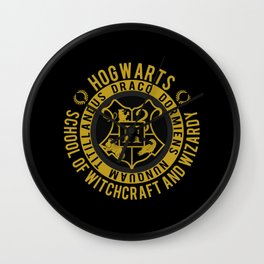 Hogwarts College Wall Clock