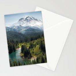 Mountain, Scenic, Rainier, Eunice Lake, National Park, Parks 2016 Stationery Cards