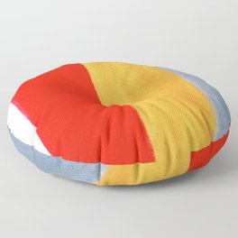 Banded Floor Pillow